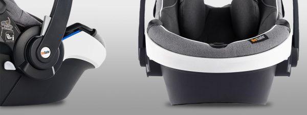 New design on the BeSafe iZi Go Modular i-Size, now with a white edge