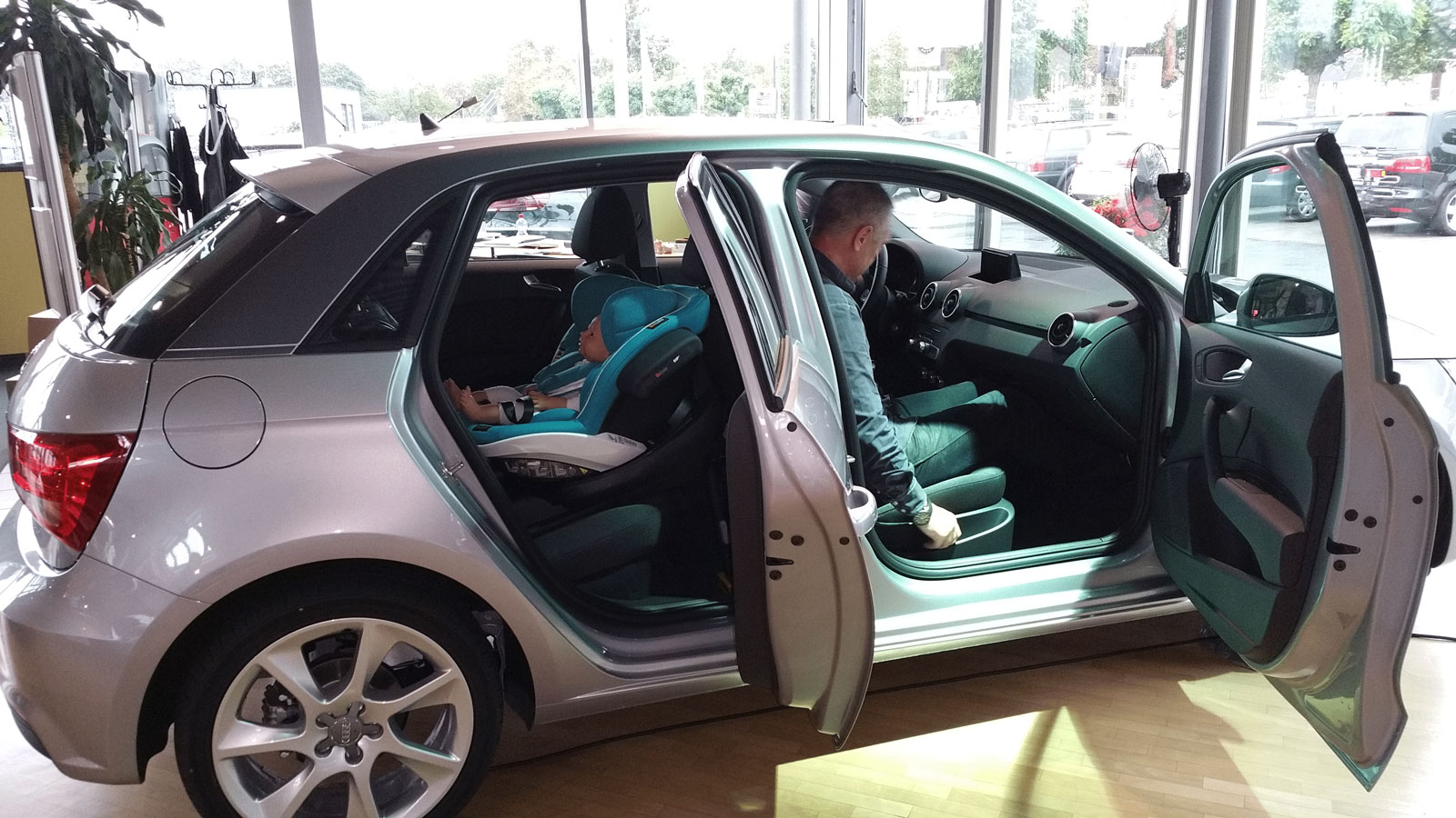In This Gallery You Can See Some Examples Of Rear Facing Car Seats Installed The Smaller Cars On Market Like Volkswagen Polo Audi A1